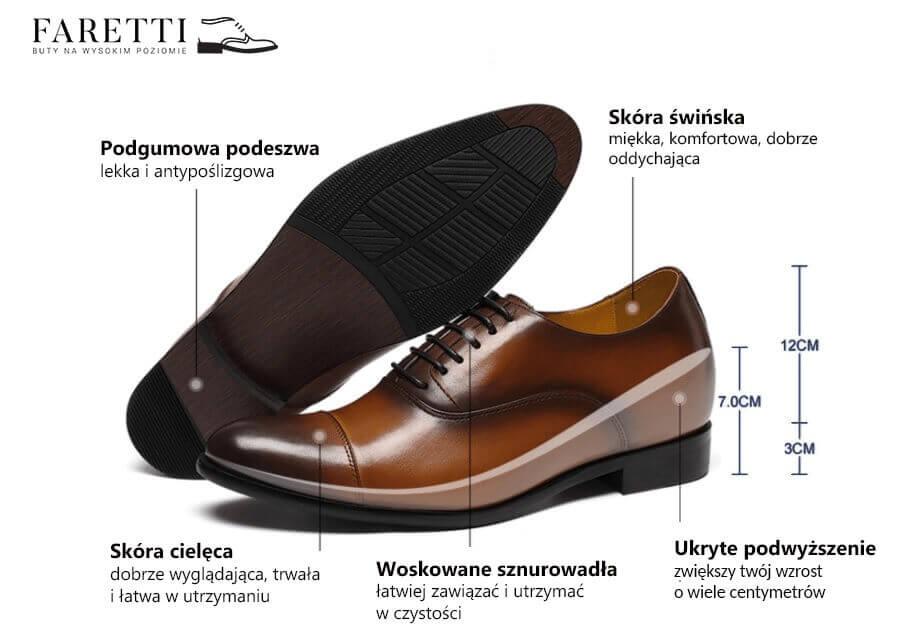 c188734f Buty podwyższające dla Mężczyzn nawet 10cm - buty dla niskich mężczyzn
